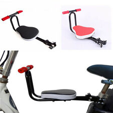 Bike Front Seat Kids Chair Seat security Thickened Padded Child Bicycle Foldable