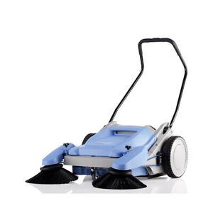 Kranzle Colly 800 Industrial Walk Behind Hand Powered Pedestrian Floor Sweeper