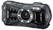 Ricoh WG-50 Waterproof Digital Compact Camera - Black