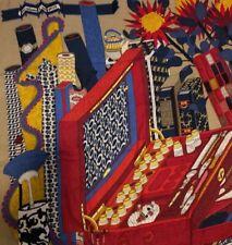 SALE * New Authentic Hermes Les Tresors d'un Artiste 140cm cashmere shawl *SALE