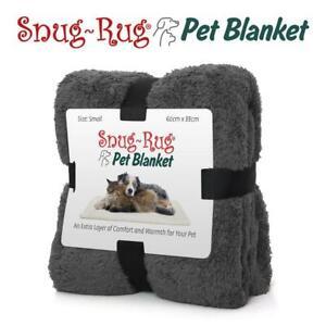 Snug-Rug Pet Blanket 88 x 60cm Slate Grey - Small