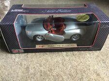 Maisto 32814 Porsche Boxster Silver Edition 1/18 Boxed Original Concept Version