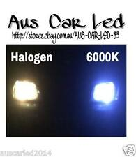 Honda Accord Euro Super Bright white 4x 6000K LED Parker & Plate bulbs / globe