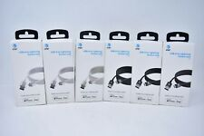 AT&T OEM Lightning USB Braided Data Charging Cable (4ft,6ft,10ft) - NEW !!!