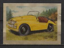 JLO Small Car 1951 Vintage 1950s Dutch Trading Card No. 250