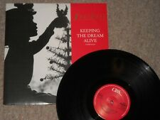 "Freiheit 12"" vinyl single Keeping The Dream Alive CBS 1988 Clean Test Play Ex+"