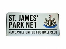 Newcastle United Football Club St James Park Metal Street Sign Official Wall