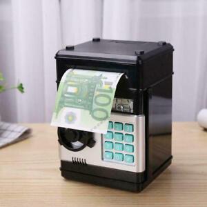 Kinder Spardose Geldautomat ATM Sparbuechse Sparschwein Banktresor