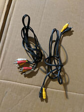 New listing 3 Ft 3 Rcaaudio Video Av Cable Yellow Red White/ & Black/yellow mono video cable