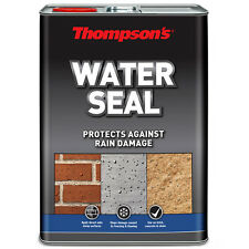 Thompsons Water Seal Clear Brick Concrete & Stone Waterproofer - 5 Litre