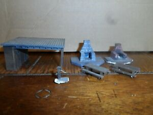 HO SCALE  CAMP GROUND ITEMS