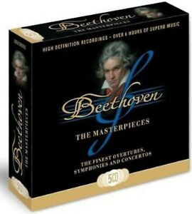 Beethoven: Masterpieces (Complete 9 Symphonies) NEW & SEALED 5CD Box Set