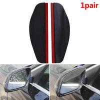 2x Car Eyebrow Cover Rearview Mirror Sticker Rain Shield Shade Protector Guard..