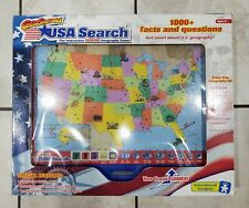 GeoSafari USA Search Talking Interactive Geography Game El-8780