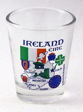 IRELAND EU SERIES LANDMARKS AND ICONS COLLAGE SHOT GLASS SHOTGLASS