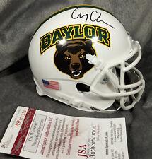 COREY COLEMAN signed BAYLOR BEARS mini helmet JSA WITNESS coa buffalo bills