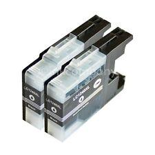 2 Druckerpatronen black LC1240 XL für DCP J525W J725DW J925DW MFC J430W J5910DW