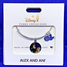 Disney Parks ALEX & ANI bracelet JASMINE Aladdin Heart Courage - silver tone NEW