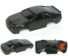 1992 TYCO Thunderbird SC Test Shot Slot Car Body Unused Stealth Black Test Shot