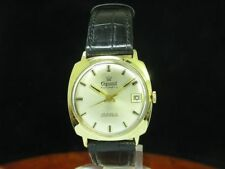 Exquisit 14kt 585 Gold Automatic Men's Watch with Date/Caliber Durowe 7525