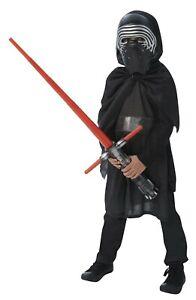 Bambini Darth Vader Costume 8-13 anni star wars starwars Sith Lord bambini Costume