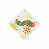The Very Hungry Caterpillar Beverage Napkins - Party Supplies - 16 Pieces