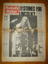 MELODY MAKER 1972 MAY 6 ROLLING STONES ELO ELVIS