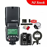 Godox V860II-C Camera Flash Speedlite X1T-C Tigger Bowens Bracket F Canon 50D 7D