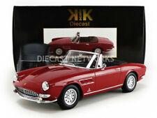 KK SCALE 1964 FERRARI 275 GTS PININFARINA SPIDER REd with Alloy Rims 1/18 LE500