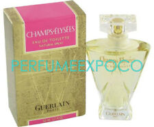 GUERLAIN Champs Elysees PERFUME Woman 1.0oz EDT Spray *VINTAGE 2001 GOLD* (HE36