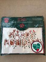 Vintage Holiday 20 Christmas Cards & Envelopes NEW Sealed American Greetings