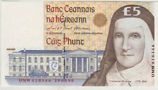 More details for p75b ireland 1998 £5 banknote in near mint condtion.