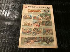 Sunday Comics Newspaper Section CHICAGO PICTURE - MARCH 5 1939 - TARZAN etc