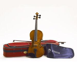 STENTOR Violine 1/8 Student II Set mit Bogen und Koffer