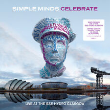 Simple Minds : Celebrate: Live at the SSE Hydro, Glasgow VINYL (2015) ***NEW***
