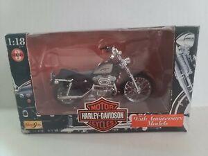 Vintage Maisto Series 3 Harley Davidson 95th Anniversary Model 1:18 Scale 1998