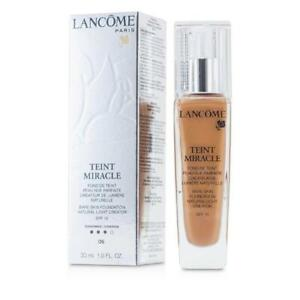 Lancome Teint Miracle Bare Skin Foundation SPF15 ~ # 06 CANNELLE, NIB