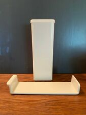 Vintage Tupperware Cheese Keeper Storage Container with Tray & Lid #1696