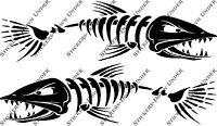 1mt Bone Fish Custom Boat Sticker JetSki Fishing Ally Craft Haines Sea-ray