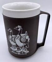 a331 Vintage NOS Aladdin Thermal Travel To Go Mug Cup Flamingo Cruisin/' Cool