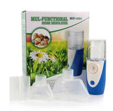 Portable Ultrasonic Handheld Nebulizer Adult Kid FULL KIT Respirator Humidifier