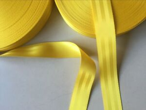 200 meter yellow color and 15meter  orange color 48mm wide SEAT BELT STRAP