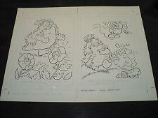 Snugglebumm Coloring Book Original Artwork RARE! Stan Goldberg! ART#0572