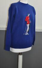 Pringle Sports Ladies Golf Sweater Jumper Knitwear Crew Neck S / Small 100% Wool
