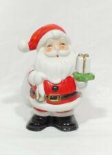 Vintage Homco Santa Claus Holding Presents Bank 5212