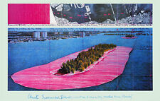 Christo Surrounded Islands Poster Kunstdruck Bild Offsetdruck 63,5 x 99,0 cm