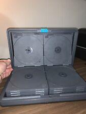 vintage LASERLINE CD storage case portable hard shell 24 disc