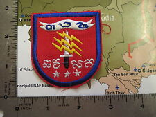beret flash  patch   - patch , nam war ,  beret flash  , CAMBODIA , RED