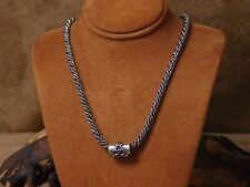 Vintage Sterling Silver Rope Chain