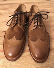 Kenneth Cole Mens Move-Quick Brown Leather Lace Up Wingtip Oxfords Shoes 7.5 M
